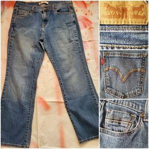 515 Levis Boot Cut 👖 Levi Jeans